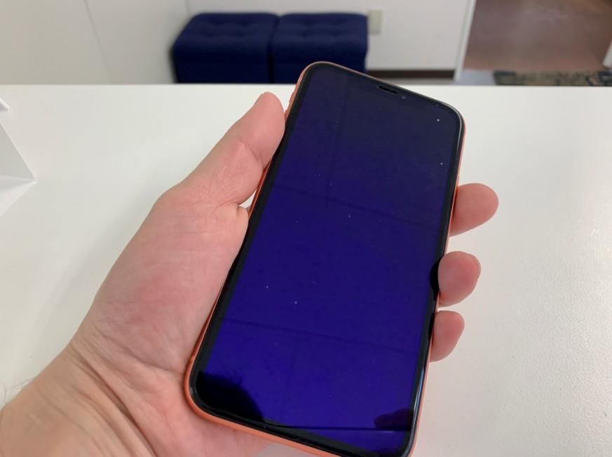 電源が入らなくなったiPhone XR