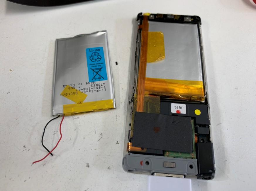 バッテリー交換修理した分解されたNW-S774