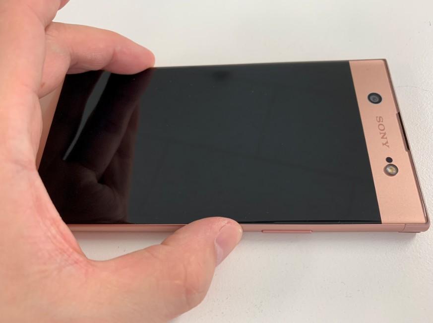 液晶画面に何も表示されないXperia XA1 Ultra(G3226)