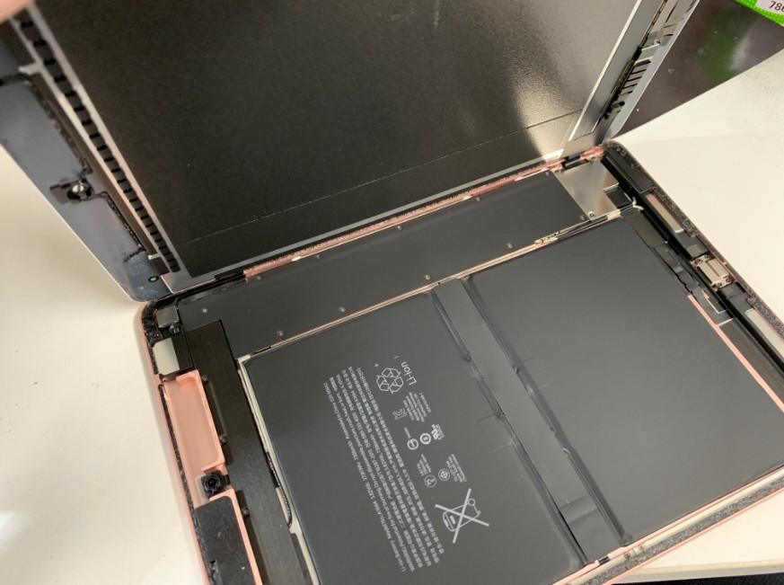 画面が完全に開いたiPad Pro 9.7
