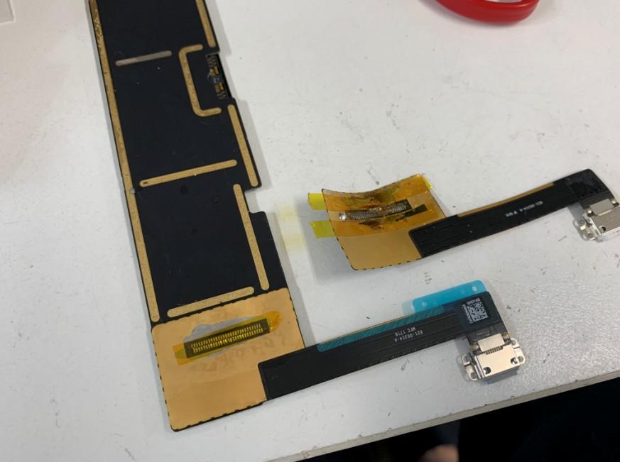 充電口パーツ交換修理後のiPad Pro 9.7
