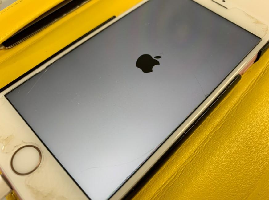 システム修繕中のiPhone7