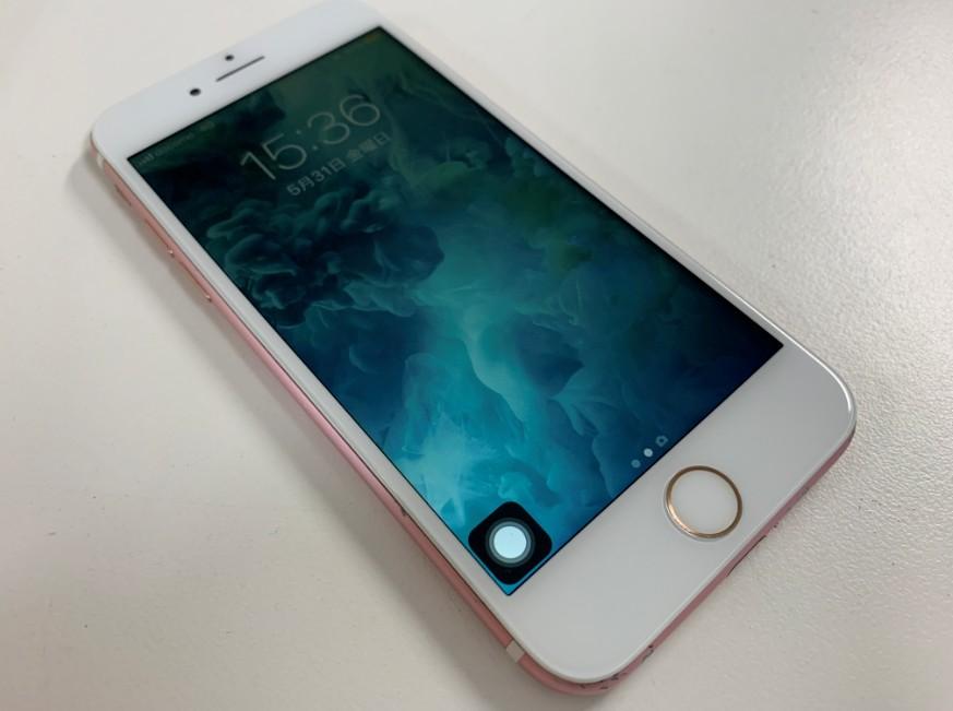 ガラス+液晶画面交換修理後のiPhone7