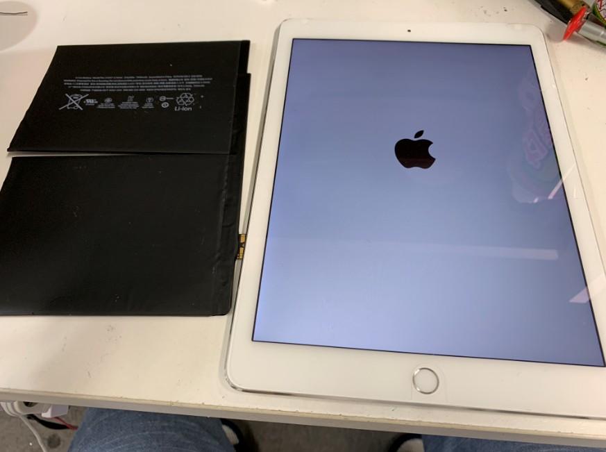 バッテリーを新品に交換したiPad Air2