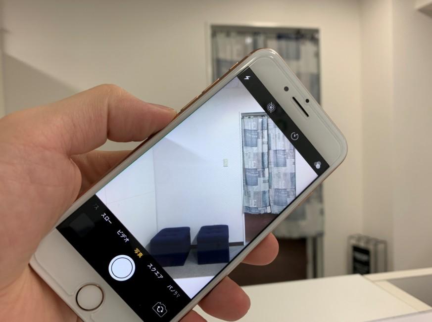 外カメラ交換で撮影出来るようになったiPhone8