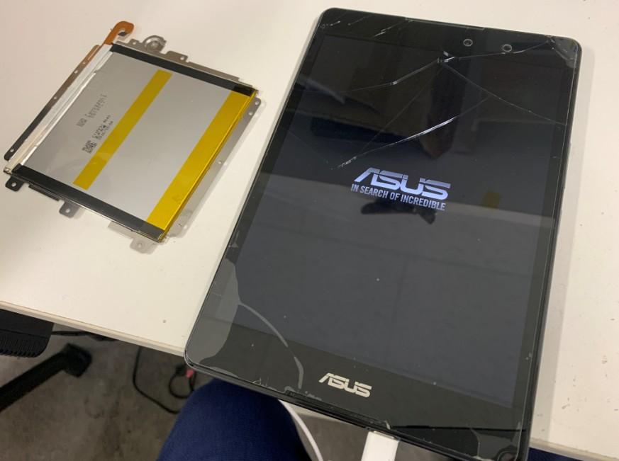 バッテリー交換修理後の充電持ちが良くなったZenPad3 8.0(Z581KL)