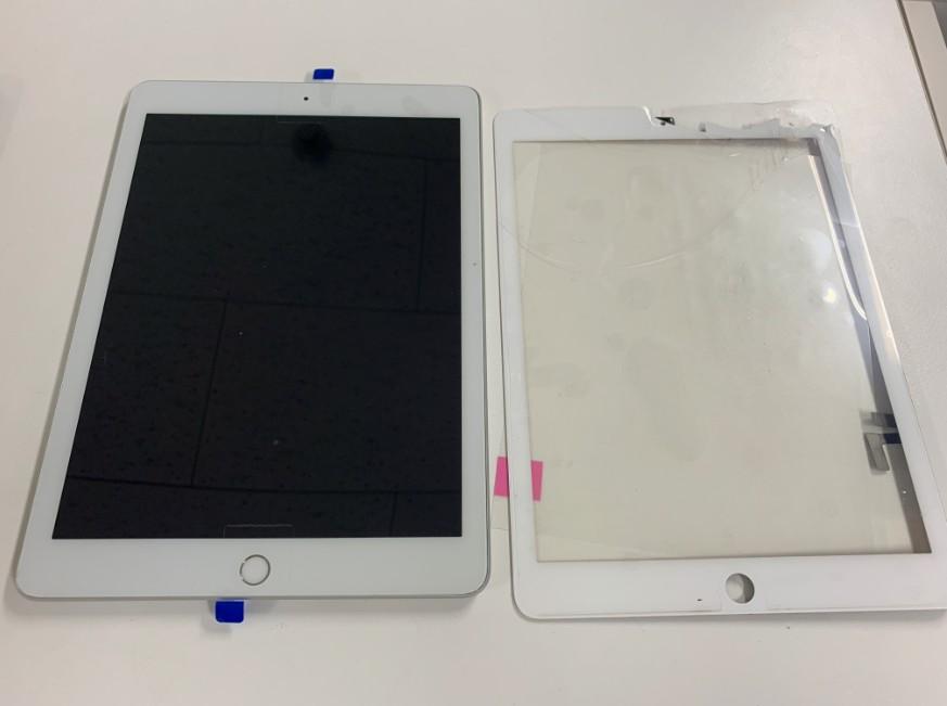 ガラス交換修理後のiPad 第5世代