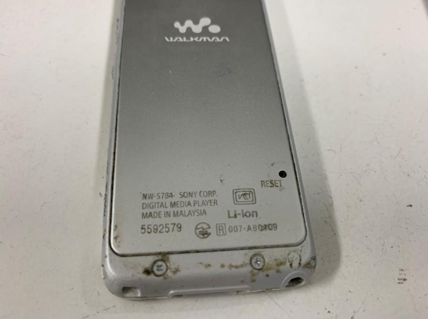 充電持ちが非常に悪いNW-S784