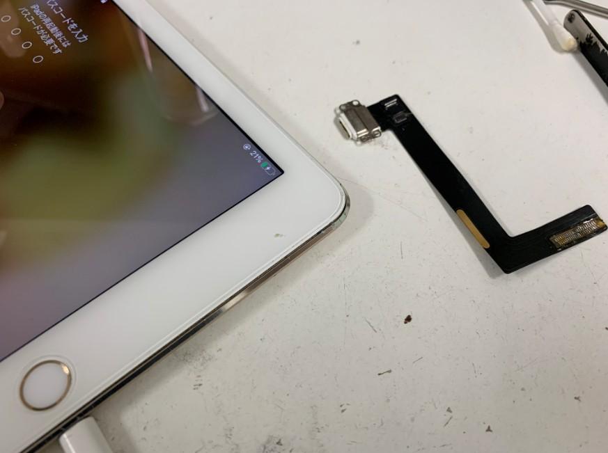 ドックコネクター交換で充電出来るように改善したiPad Air2
