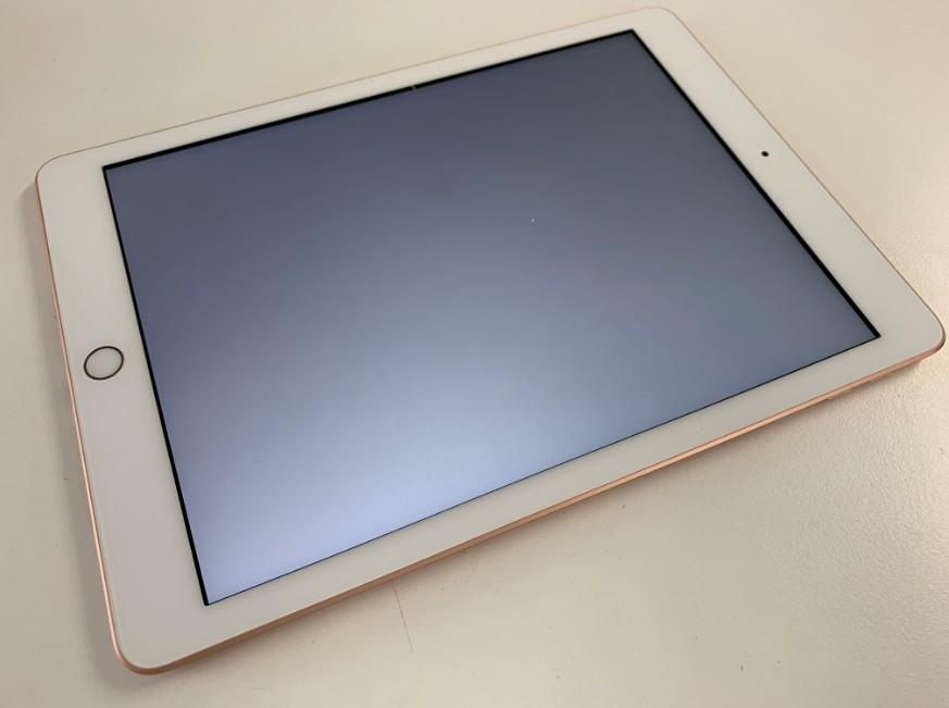 液晶画面が真っ白になったiPad 第6世代