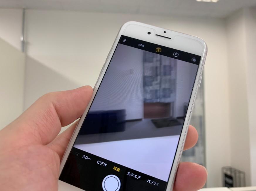 手ぶれ補正が壊れてキレイに写真撮影が出来ないiPhone7