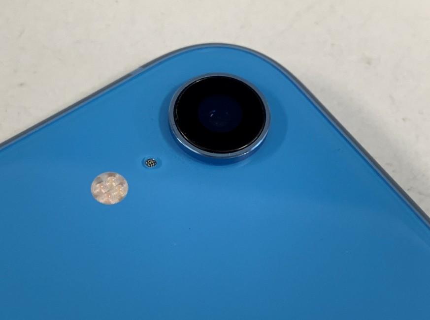背面カメラレンズ交換修理後のiPhoneXR