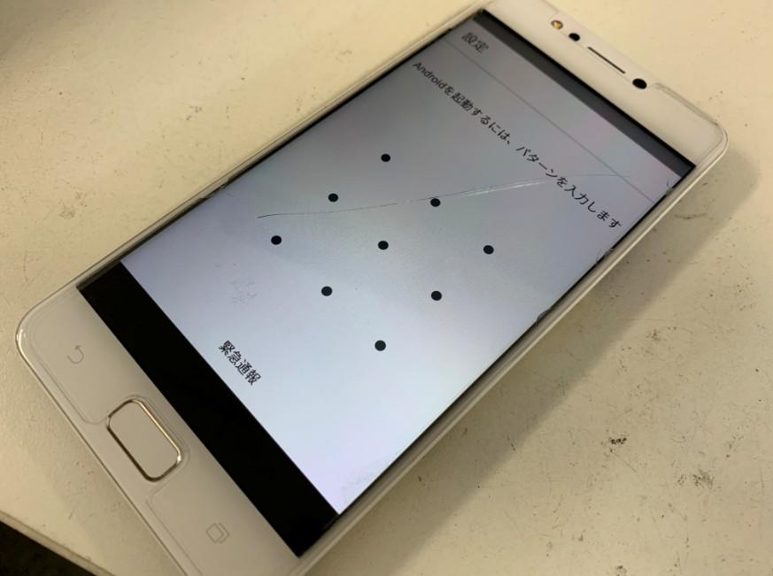 内蔵バッテリー交換修理後の充電持ちが伸びたZenfone4Max(ZC520KL)
