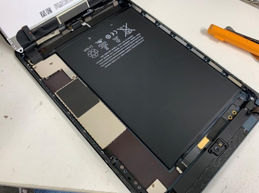 銀板を剥がした初代iPad mini