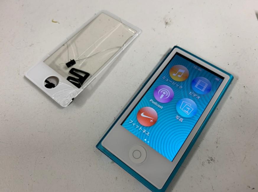 ガラス交換で新品同様になったiPod nano第7世代
