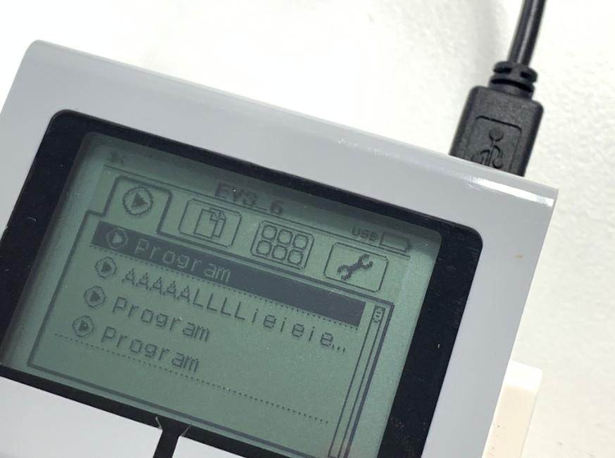 miniUSB端子を交換してパソコンに認識されるようになったレゴ マインドストーム EV3