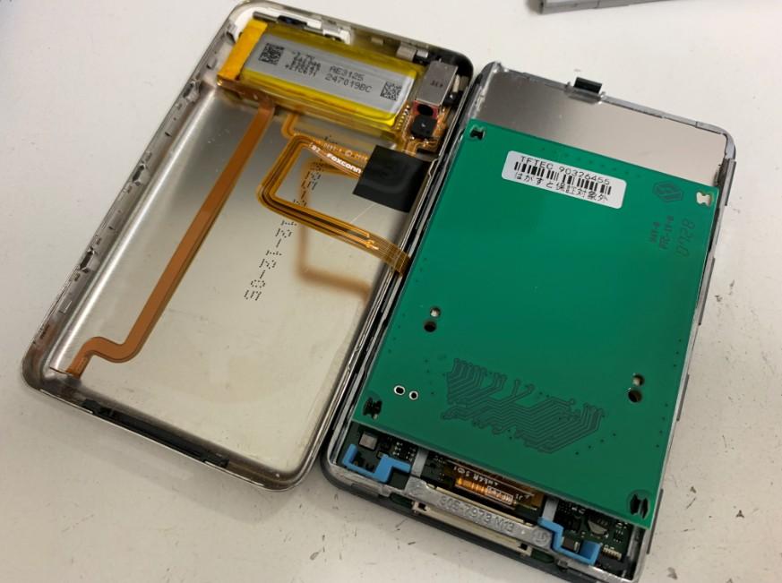 SSDを本体に組み込んだiPod classic 160GB
