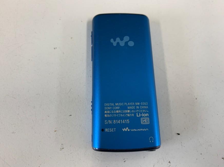 バッテリーが劣化したウォークマン NW-E052