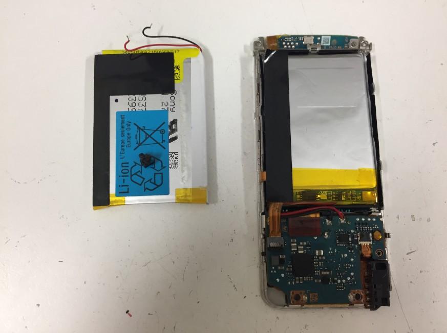 バッテリーを新品に交換したWALKMAN NW-S15