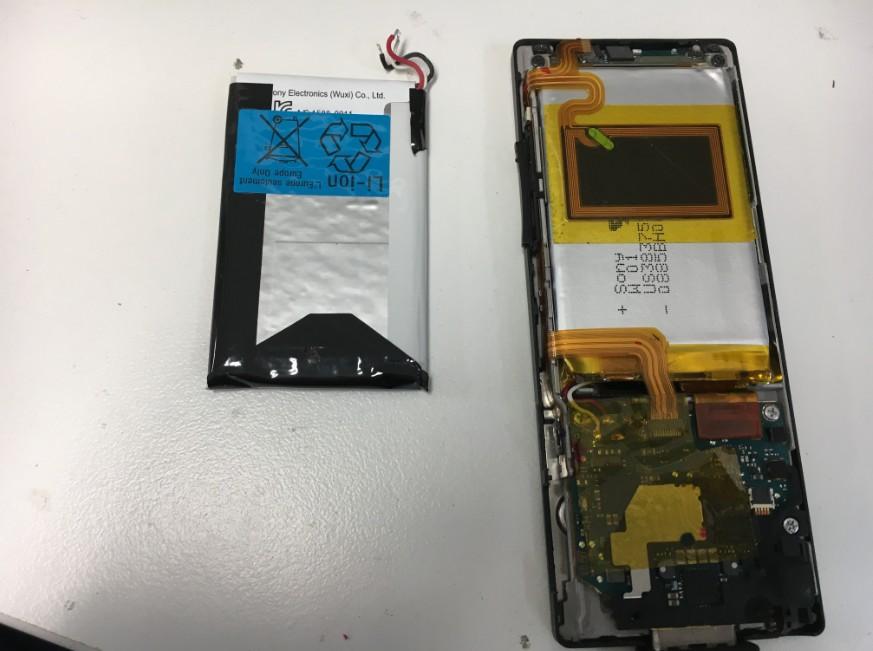 内蔵バッテリー交換したWALKMAN NW-A16