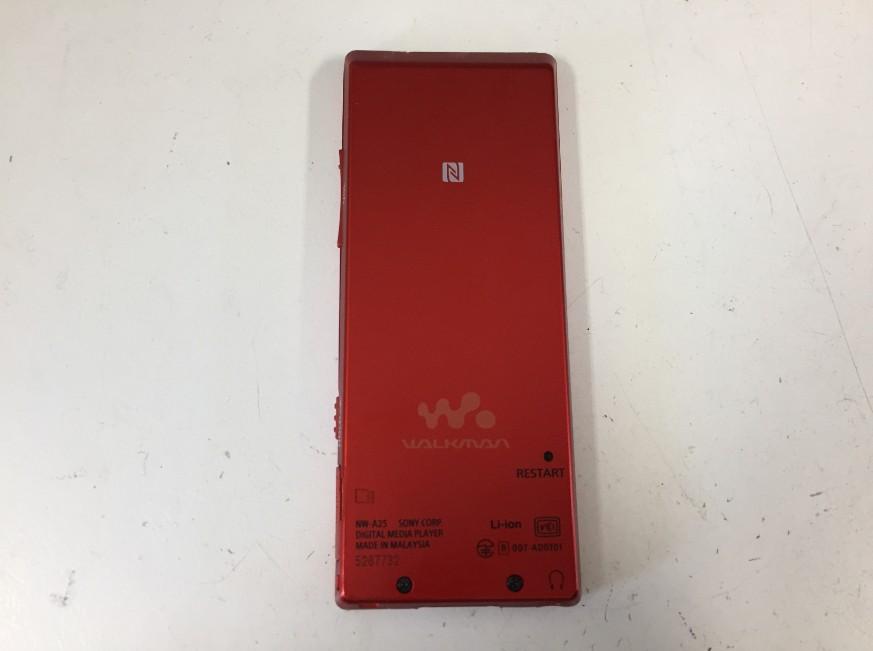 バッテリーが劣化してすぐに充電が減るWALKMAN NW-A25