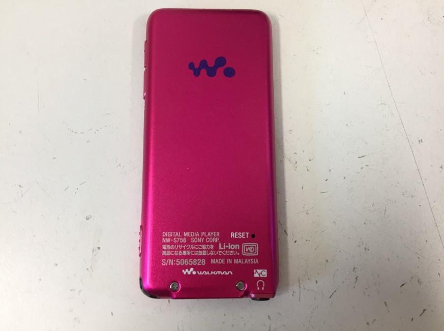 充電持ちが悪くなったウォークマンNWS756