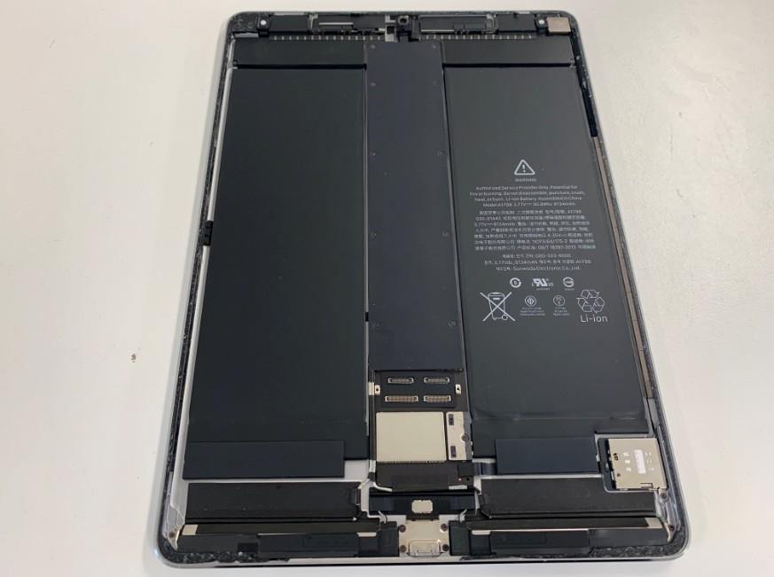 iPadPro10.5の本体のアップ画像