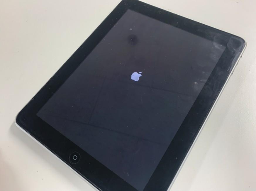 リンゴループして電源が入らない初代iPad