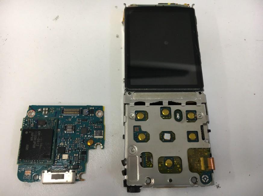 基板を入れ替えたNW-S766