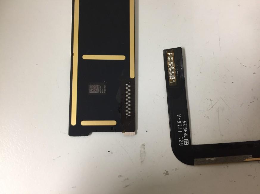 充電口を本体から取り出したiPad第5世代