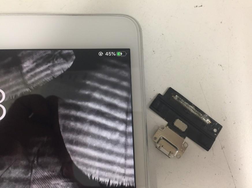 充電口パーツ交換修理して充電できるようになったiPadPro10.5