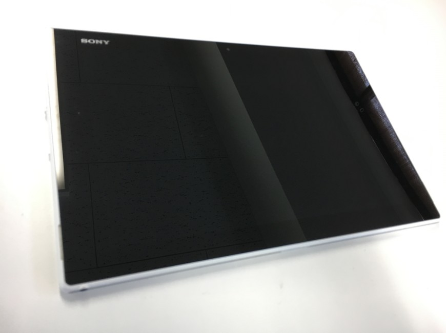 電源が入らないXperia Z2 Tablet