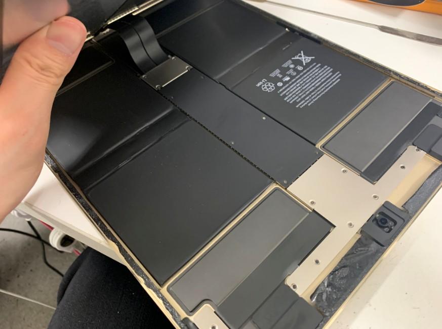 画面を開いたiPadPro12.9 第2世代