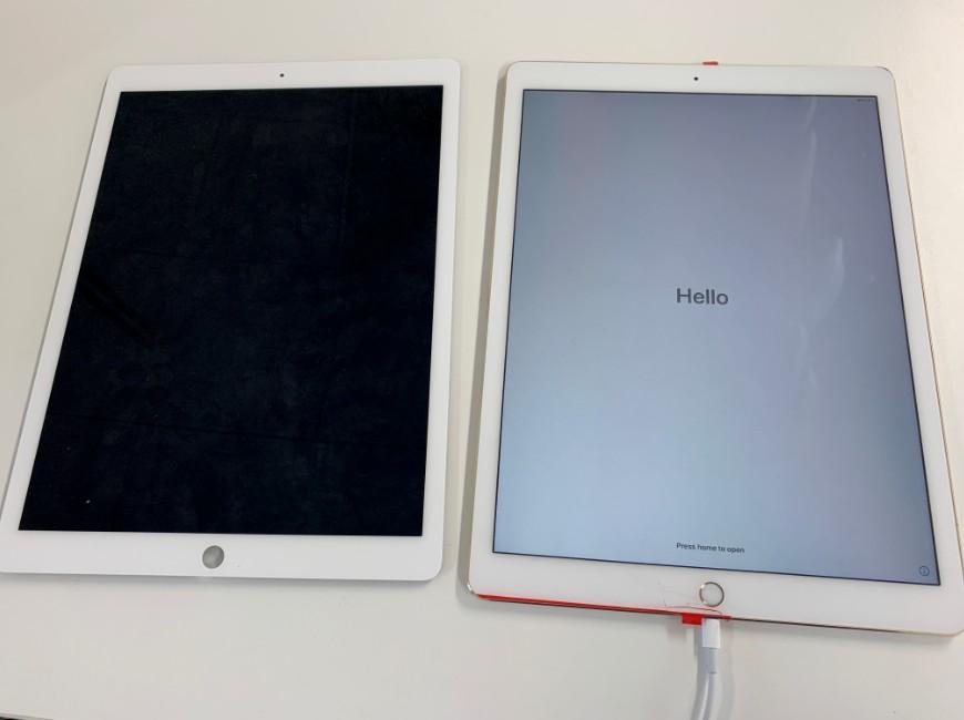画面交換で何も表示されない症状が改善したiPad Pro 12.9 (第1世代)