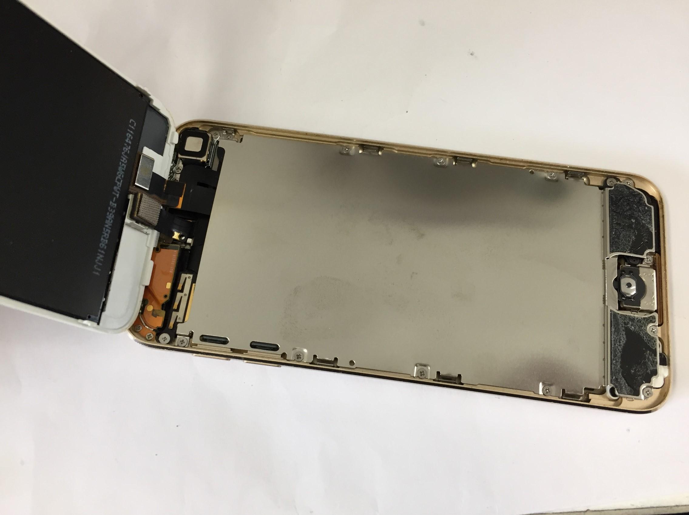 画面を開いたiPod Touch 第6世代