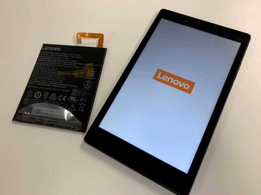 バッテリーを新品に交換したLenovo Tab3