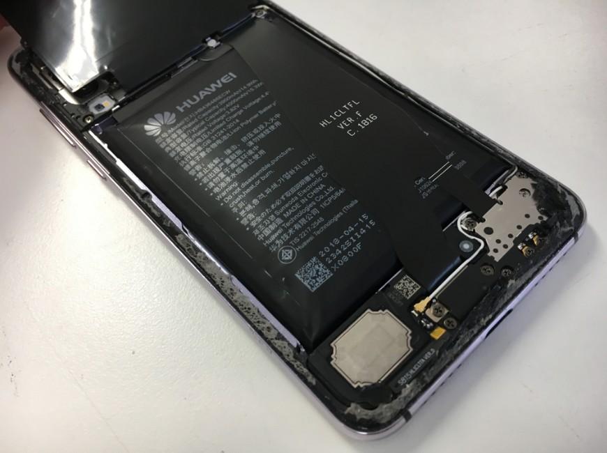 バッテリーが膨張したP20 Pro