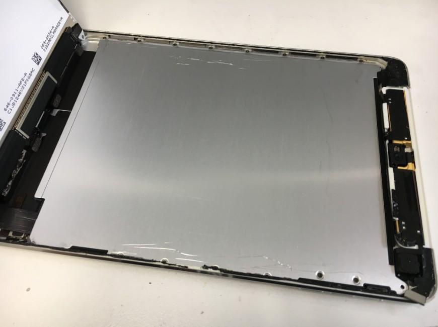 液晶を剥がしたiPad mini