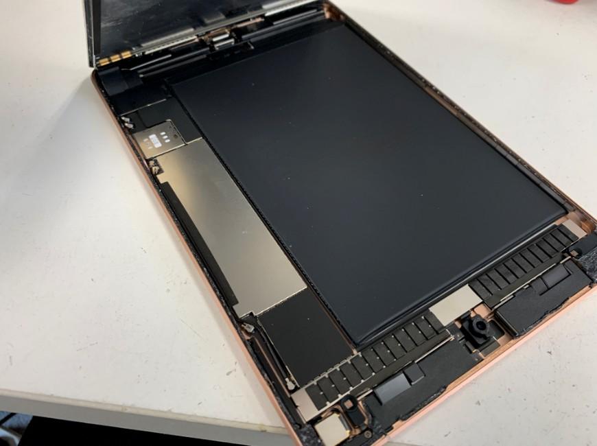 画面を大きく開いたiPad mini5
