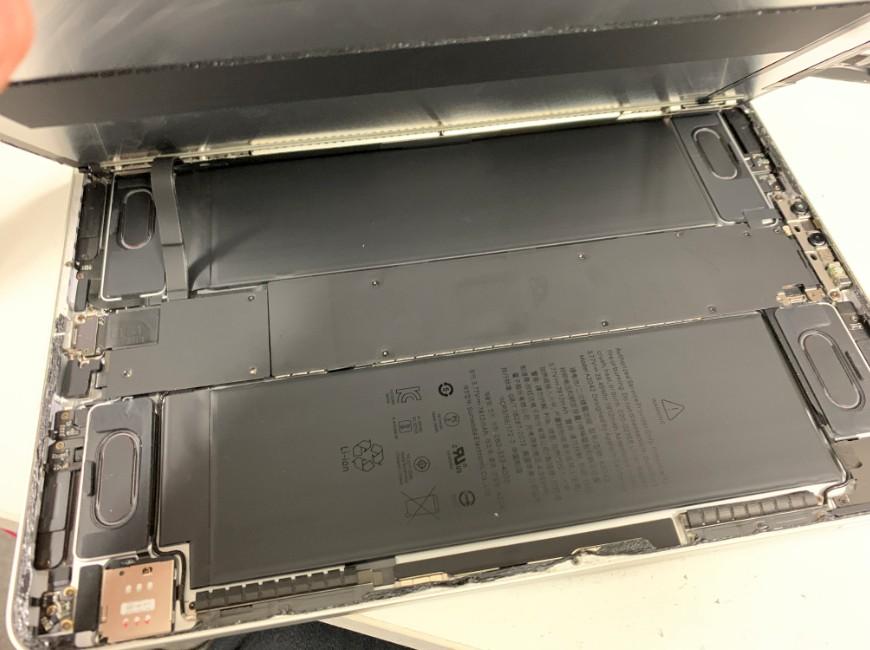 画面を大きく開いたiPadPro11
