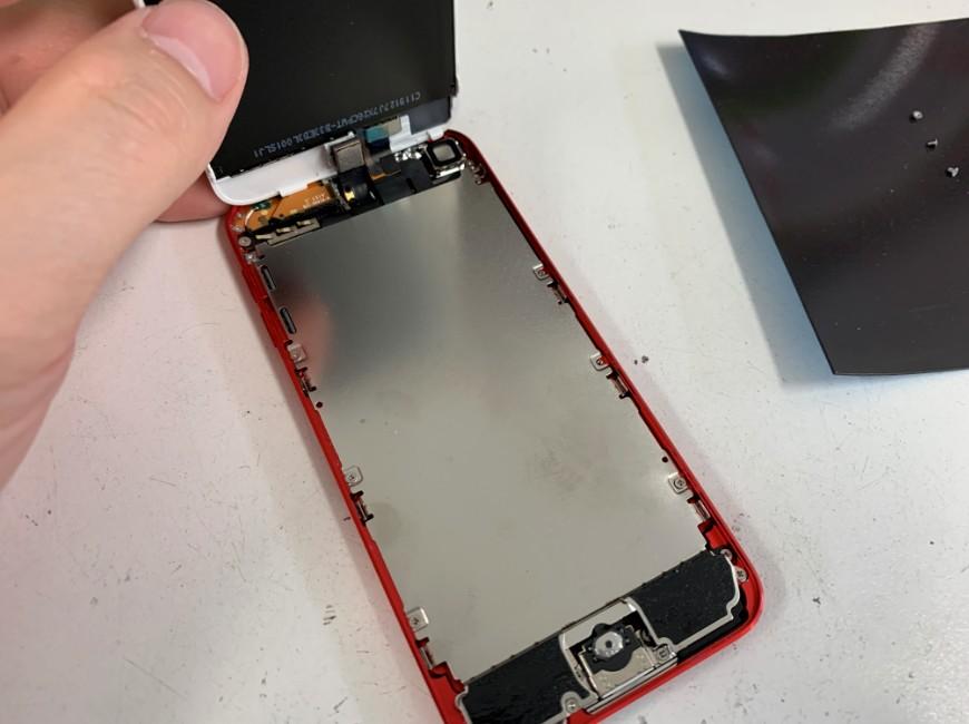 画面を開いたiPod Touch第7世代