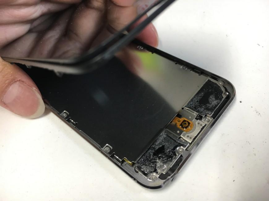 画面を開いたiPod Touch第5世代