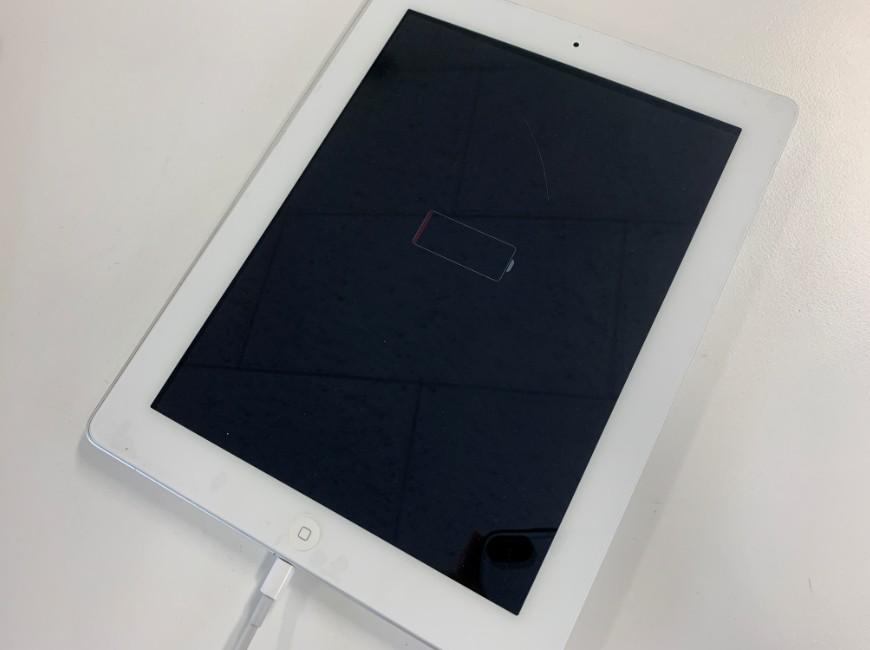 何時間充電しても電源が入らないiPad 第4世代