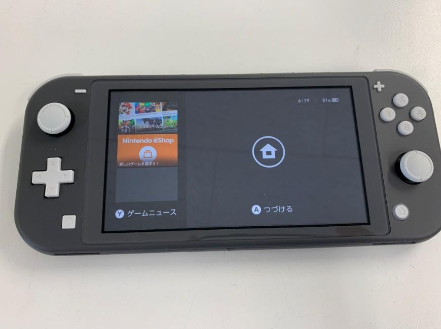 ブルースクリーンが基板修理で直ったNintendo Switch Lite