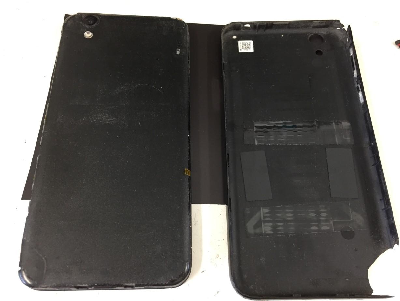 背面パネルを剥がしたAndroid One S3