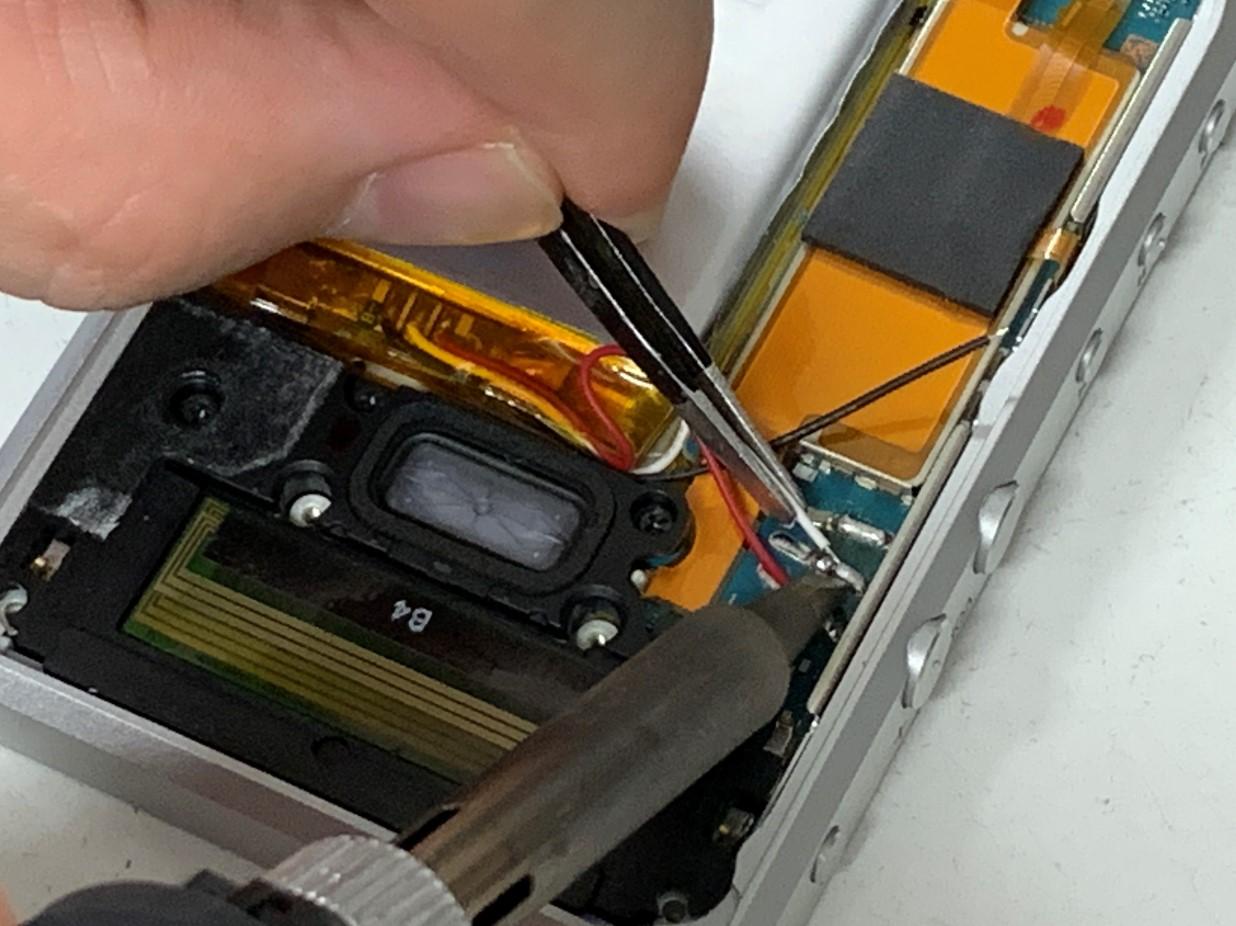 ウォークマン電池交換修理手順⑳