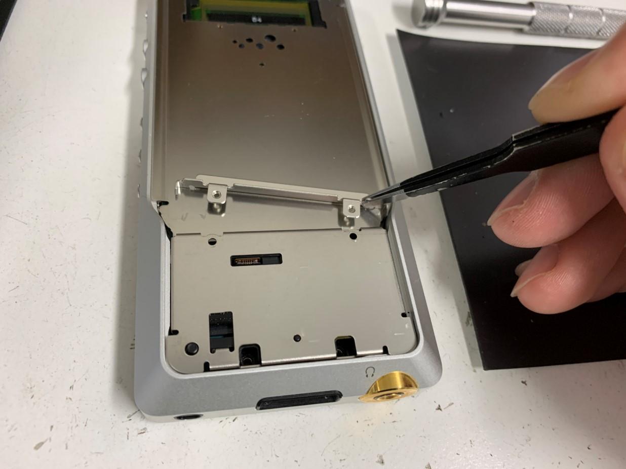ウォークマン電池交換修理手順⑦