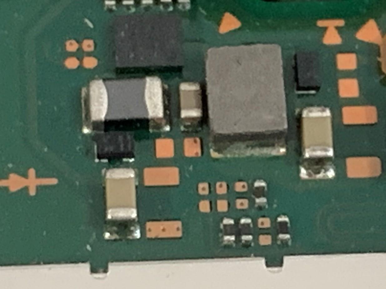 基板修理を行っているNIntendo Switch