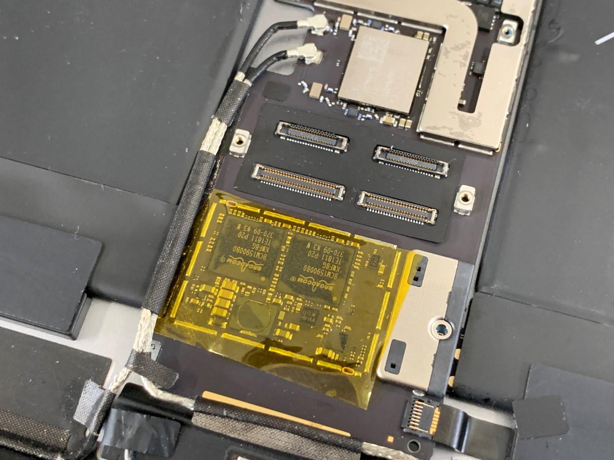基板修理を行ったiPadPro10.5