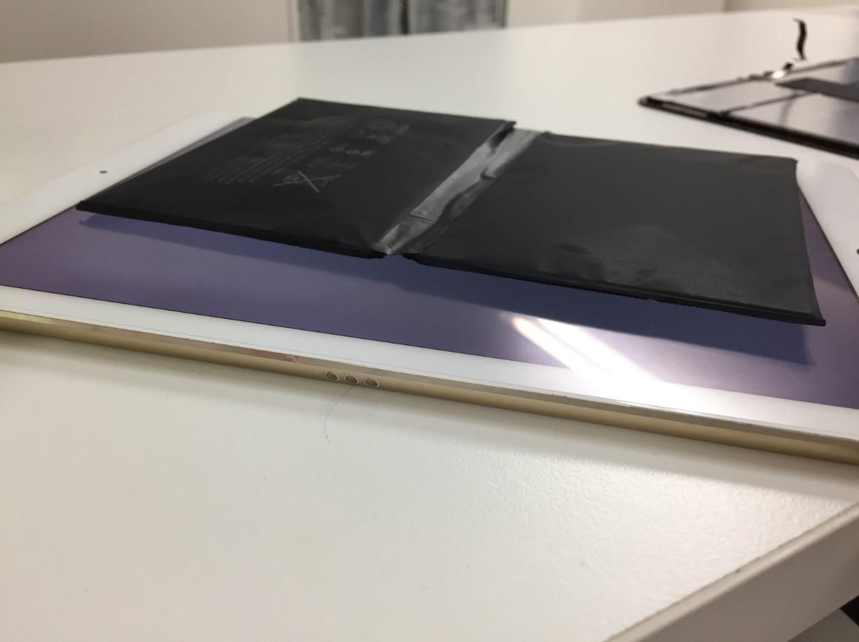 バッテリー交換で画面浮きが完全に解消したiPadPro 9.7